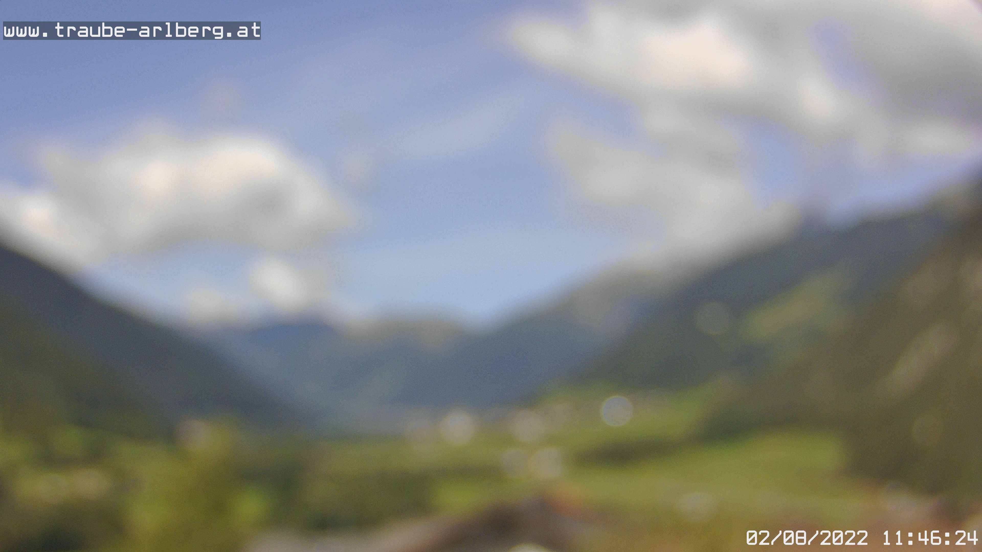 Webcam - Hotel - Gasthof Traube, Schnann am Arlberg