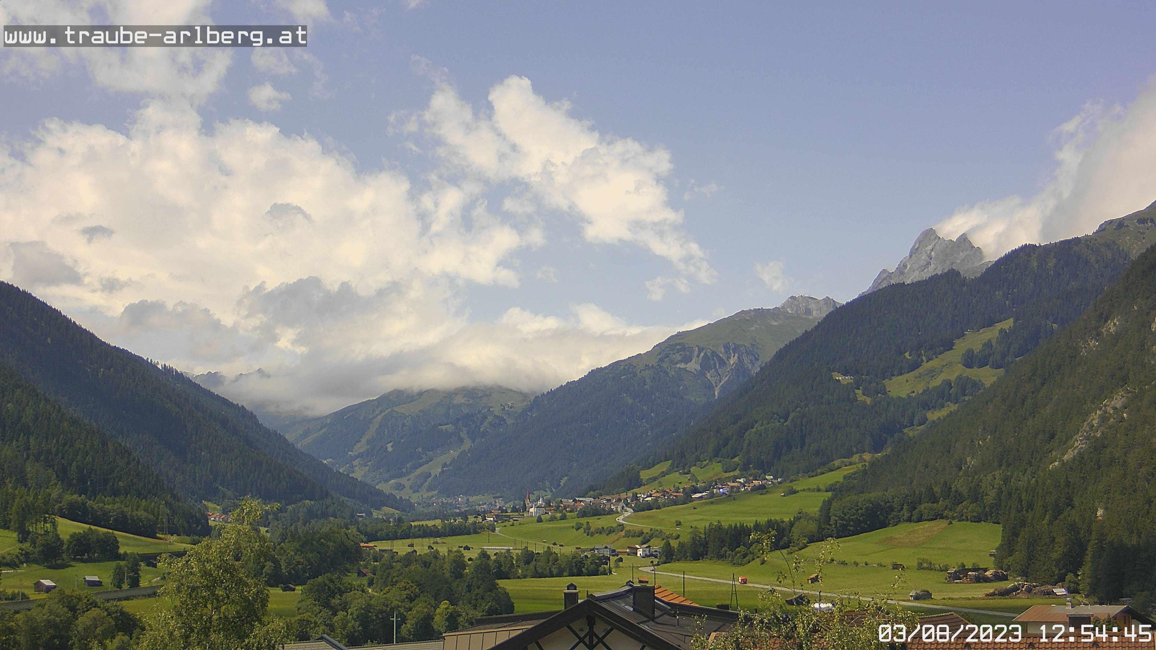 Webcams de St. Anton am Arlberg (Austria)